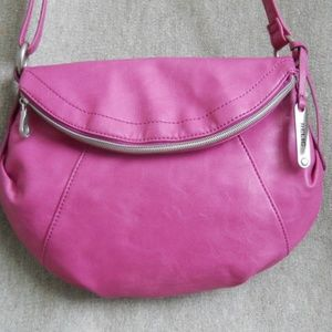 RELIC  Bubble Gum Pink  Crossbody Purse